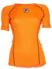 Fila TeamNL Warm Ondershirt SS - dames - oranje