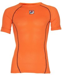 Fila TeamNL Warm Undershirt SS - men - orange