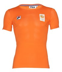 Fila TeamNL T-shirt SS - heren - oranje