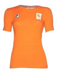Fila TeamNL T-shirt SS - dames - oranje