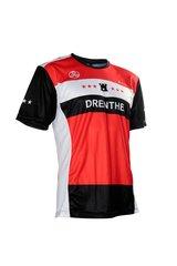 Fortissima Running Tee - Men - Drenthe Merchandise - Black/Red