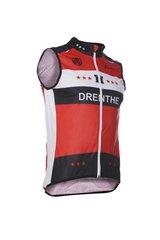 Fortissima Bodywarmer  - Unisex - Drenthe - Zwart/rood