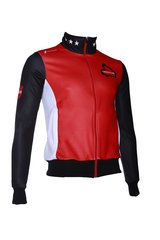 Fortissima Trainingsjack  - Dames - Drenthe - Zwart/rood