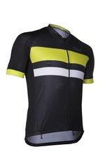 D&A - Fietsshirt Classic - Zwart/Geel