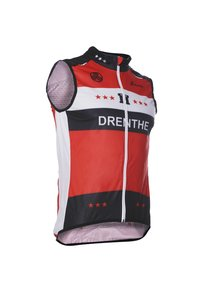 Fortissima Bodywarmer  - Unisex - Drenthe Merchandise - Zwart/rood